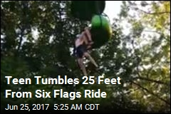 Teen Falls From Six Flags Ride and Onto Crowd Below