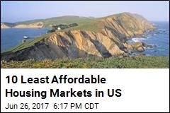 10 Least Affordable Housing Markets in US