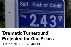 'Dramatic Turnaround' Projected for Gas Prices