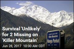 2 Missing on Treacherous 'Killer Mountain'