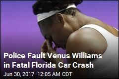 Venus Williams in Car Crash That Killed 78-Year-Old
