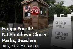 Happy Fourth! NJ Shutdown Closes Parks, Beaches