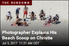 Photographer Explains His Beach Scoop on Christie