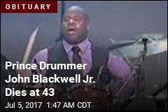Prince Drummer John Blackwell Jr. Dies at 43