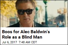 Activists: Baldwin as Blind Man Treats 'Disability as Costume'