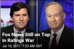 Fox News Still on Top in Ratings War