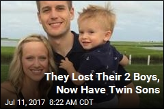 Twins in Charlotte Have Special Middle Names
