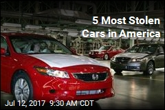 5 Most Stolen Cars in America