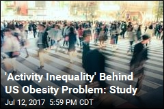 Study Finds Obese US Isn't Getting Its Steps In