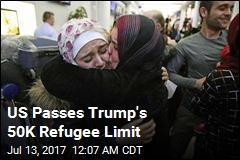 US Reaches 50K Refugee Limit
