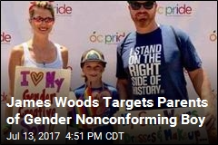 James Woods Targets Parents of Gender Nonconforming Boy