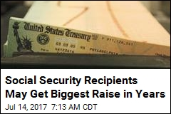 Social Security Recipients Projected to Get 2.2% Raise