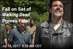 Walking Dead Stuntman Dies After Fall on Set