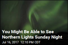 Some US Skywatchers Will See Northern Lights Sunday