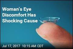Doctors Find 27 Contact Lenses in Woman's Eye