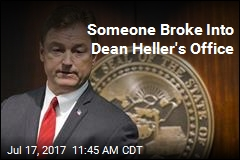 Someone Broke Into Dean Heller's Office