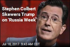 Stephen Colbert Launches 'Russia Week'