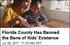 Entire Florida County Bans Homework for Elementary Kids