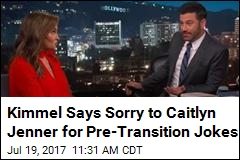 Kimmel Apologizes for Teasing Caitlyn Jenner Pre-Transition