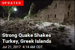 Strong Quake Shakes Turkey, Greek Islands
