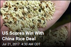 China to Allow US Rice Imports for First Time