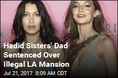 Fashion Models' Dad Sentenced Over Illegal LA Mansion