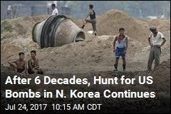 US Bombs Turning Up in N. Korea After 6 Decades