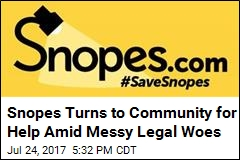 Snopes Turns to Community for Help Amid Messy Legal Woes