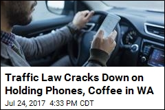 It's Now Illegal to Hold a Phone While Driving in Washington