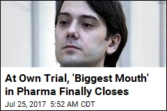 Shkreli Decides Against 'Risky' Move in Trial, Shuts His Mouth