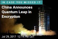 China Announces Quantum Leap in Encryption