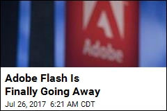Adobe Flash Is Finally Going Away
