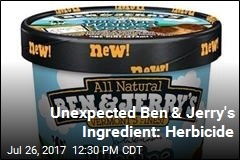 Traces of Herbicide Found in Ben & Jerry's
