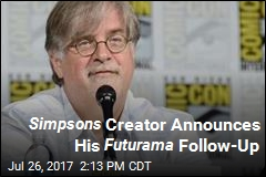 Simpsons Creator Announces His Futurama Follow-Up