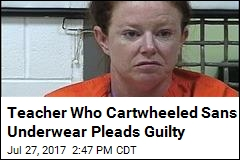 Teacher Who Cartwheeled Sans Underwear Learns Her Fate