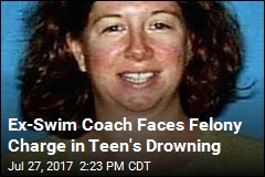 Ex-Swim Coach Charged in Drowning Death of Teen