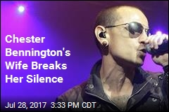 Chester Bennington's Wife Breaks Her Silence