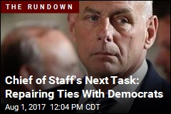Chief of Staff's Next Task: Repairing Ties With Democrats