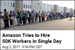 50K Open Positions, 4 Hours on Amazon's National Jobs Day