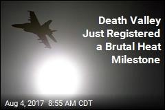 Death Valley Just Had Hottest Month in Western Hemisphere