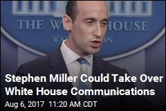 Stephen Miller Is in the Running For Scaramucci's WH Job