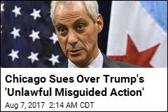 'Sanctuary City' Chicago Sues Justice Department