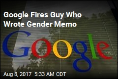 Google Fires Guy Behind Anti-Diversity Memo