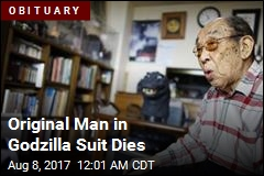 Original Man in Godzilla Suit Dies