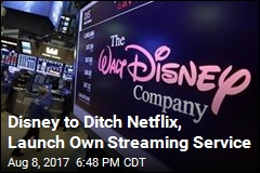 Disney to Launch Own Streaming Service