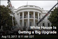 Peek at the White House's Big Renovation