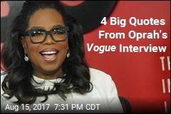 4 Buzziest Quotes From Oprah's Vogue Interview