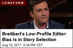 Breitbart's Young Editor Keeps a Low Profile