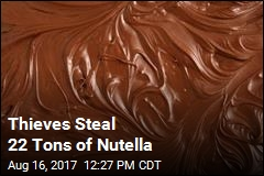 Thieves Steal 22 Tons of Nutella