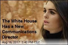 Meet Trump's New Communications Director: Hope Hicks
